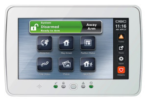 Home Security Touchpad - Houston