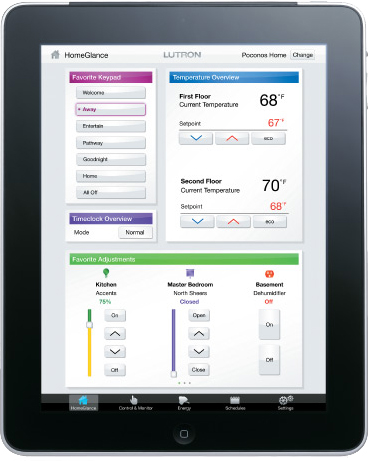 Automated lighting controls and apps for Houston business.