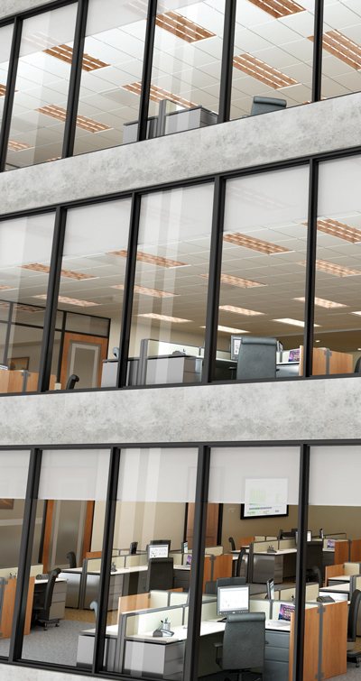 Motorized Shades For The Office